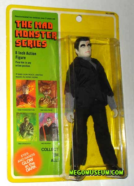 mego frankenstein on a lionrock card