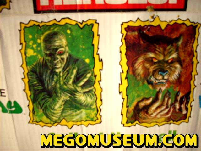 Mego Mad Monsters Header Card click here for more pictures