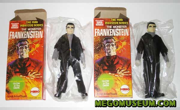 Mego mad monsters frankenstein mib