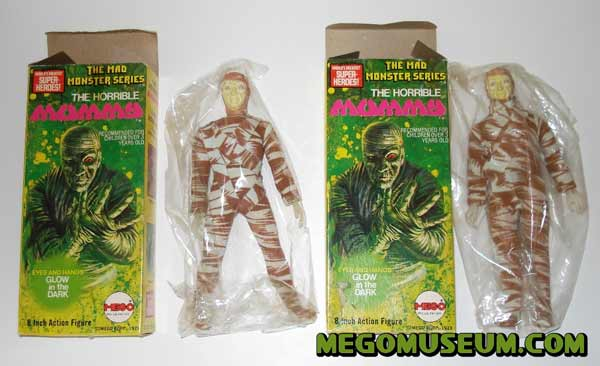 Mego mad monsters Mummy mib