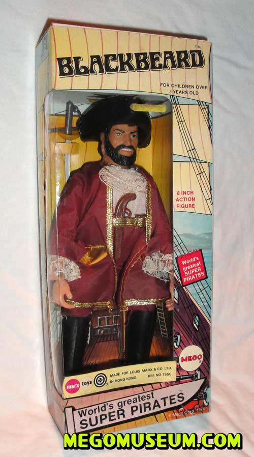 Mego Black Beard Box