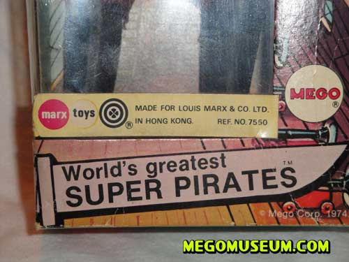 Mego Marx Pirate
