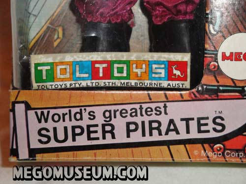 Boxed Mego Toltoys Pirates