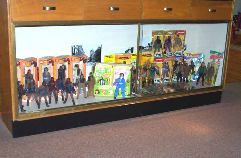 Planet of Apes Mego Display