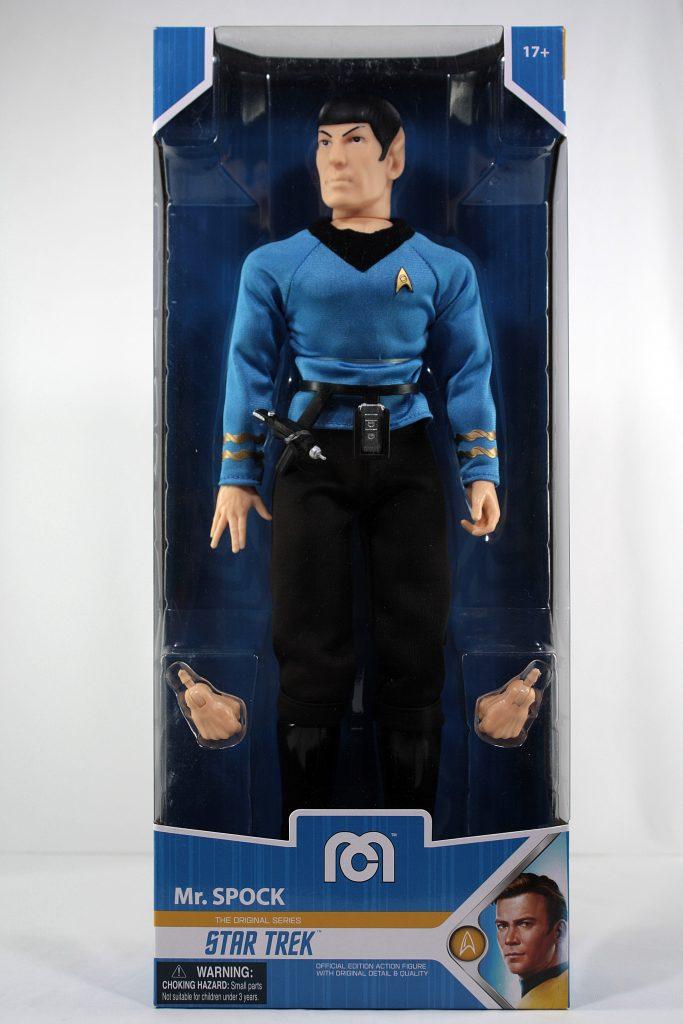 """Mego 14"""" Mr Spock Star Trek box"""
