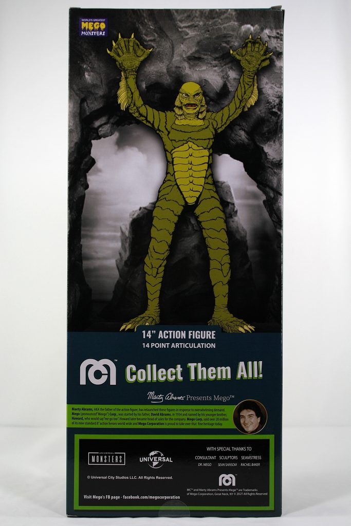 Mego Creature from the Black Lagoon Box