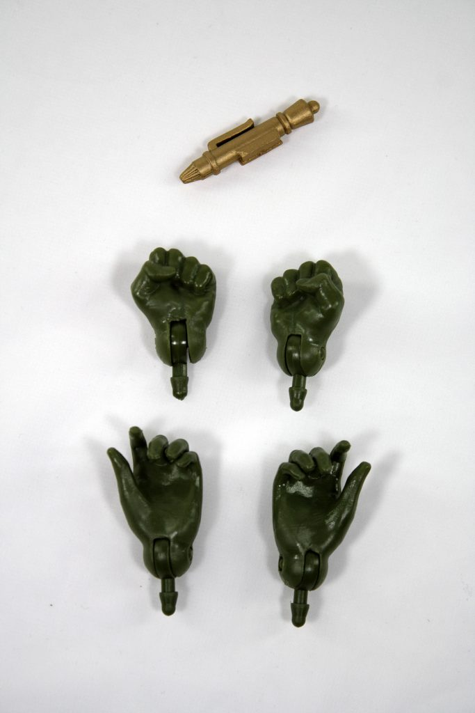 Gorn hands by Mego