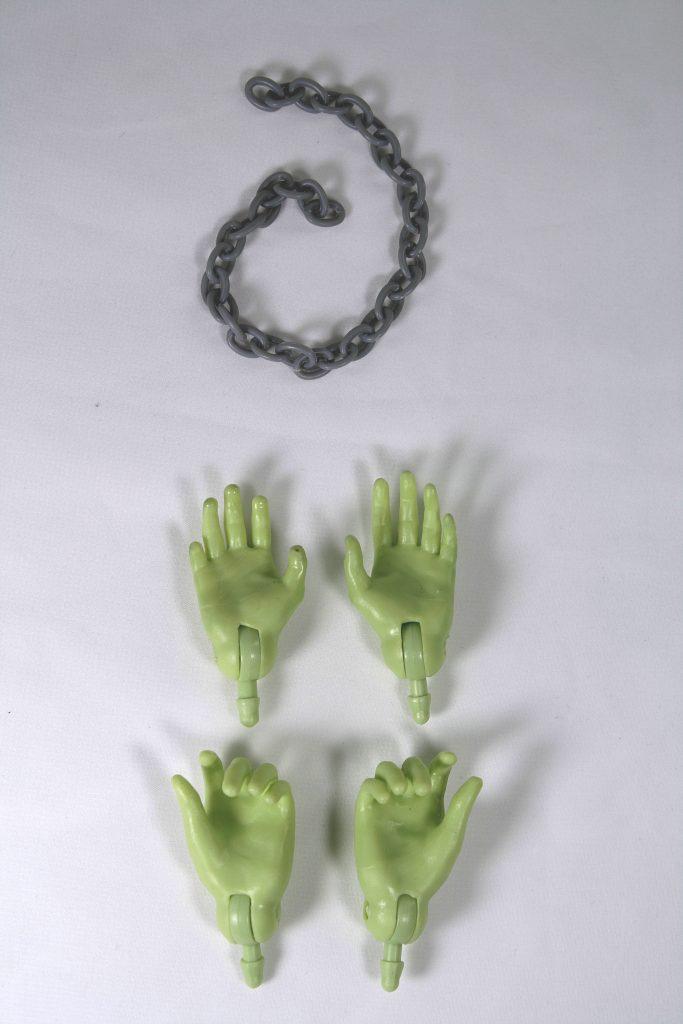 Mego Frankenstein accessories