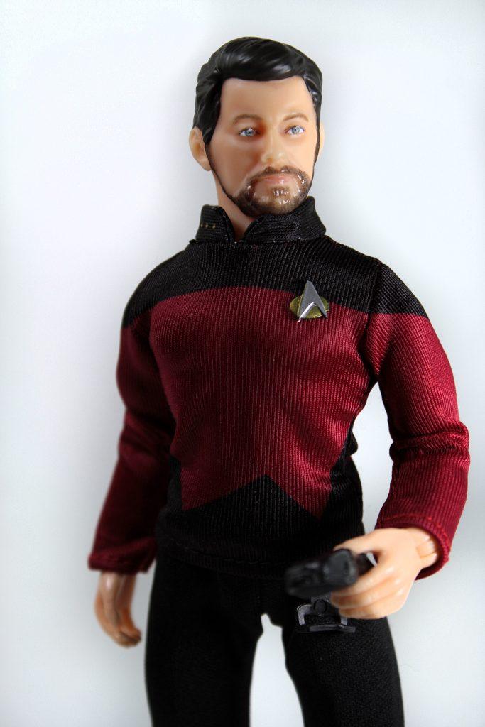 Mego Will Riker Star Trek Comm Badge