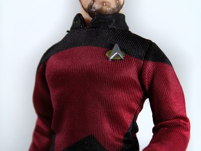Mego Will Riker Star Trek Comm Badge TNG