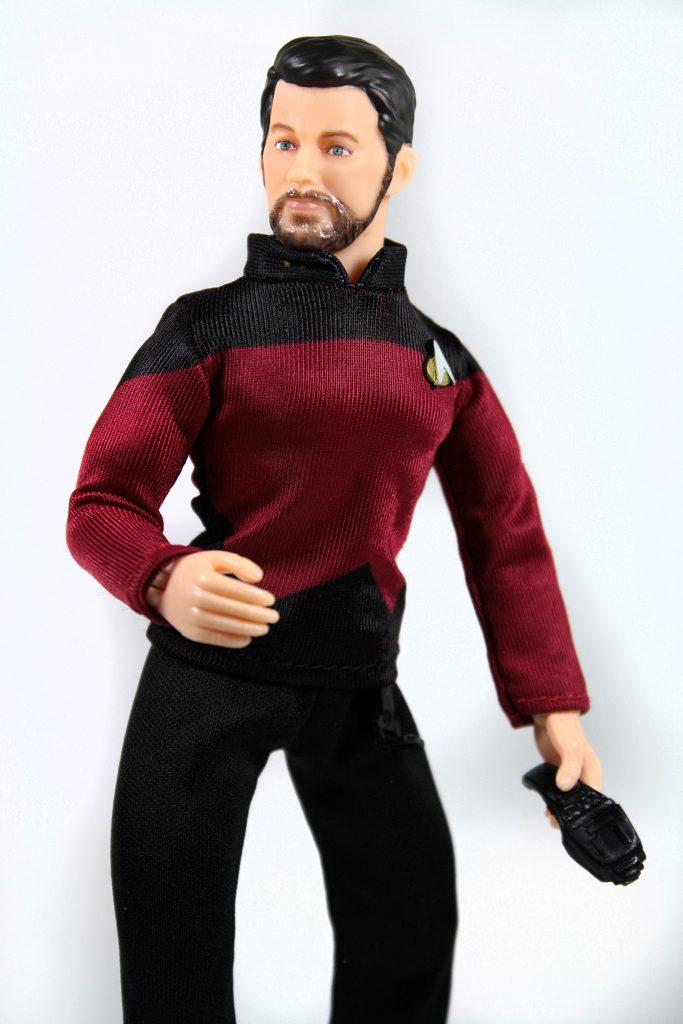 Mego Will Riker Star Trek Phaser TNG