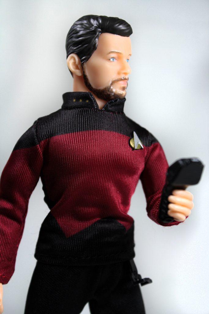 Mego Will Riker Star Trek Phaser