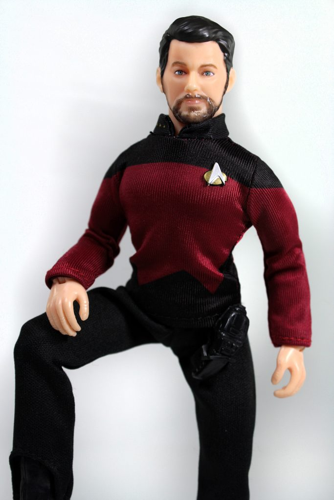 Mego Will Riker Star Trek