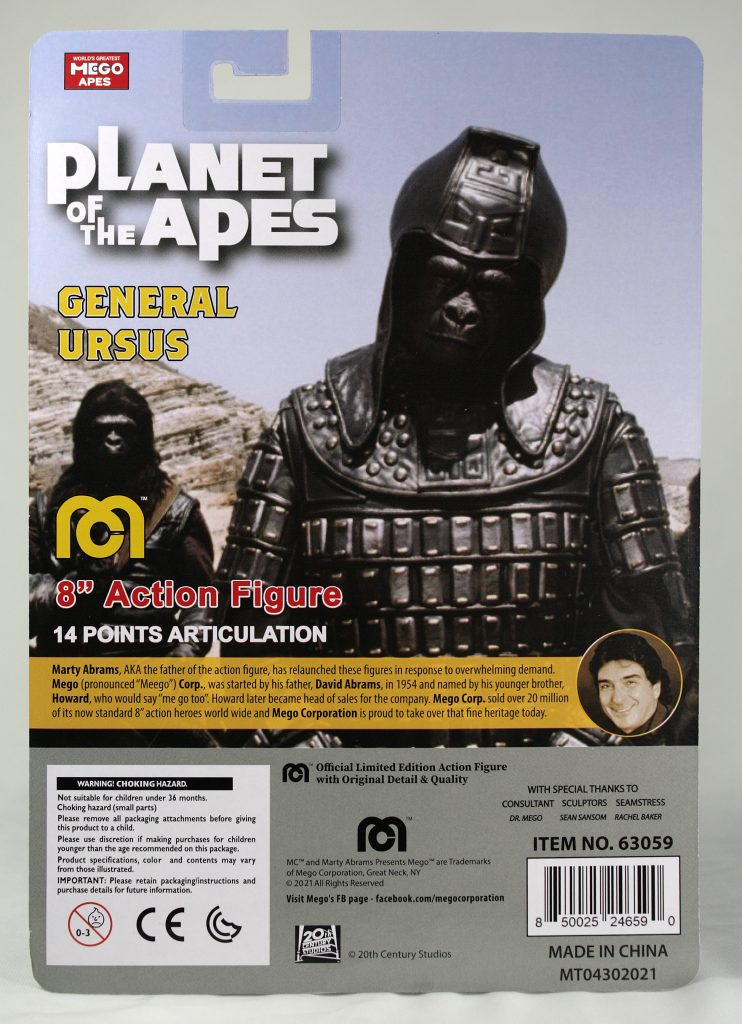 mego planet of the apes 2021