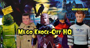 Mego Knock Off HeadQuarters MEGOKOHQ MEGOLIKE