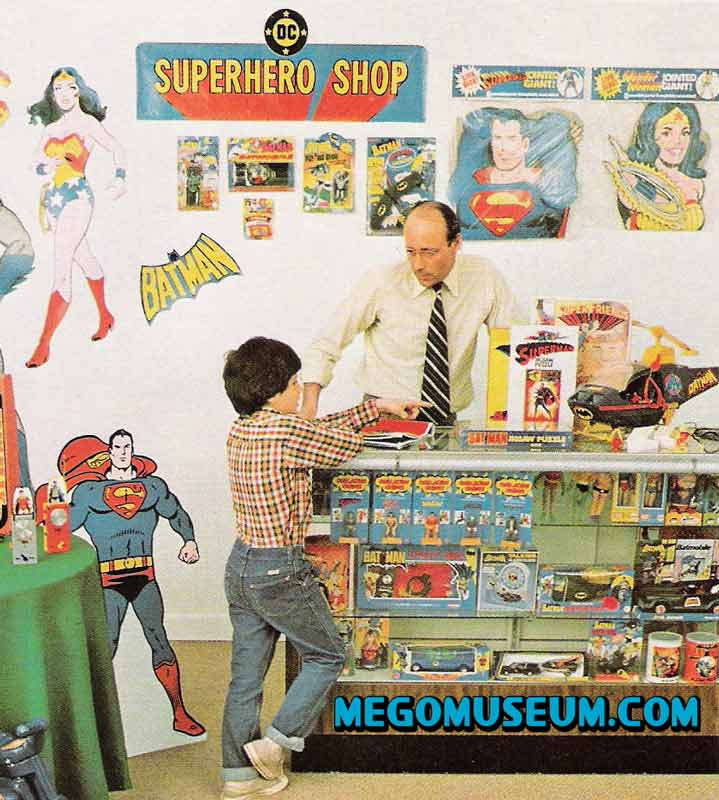 mego superheroes