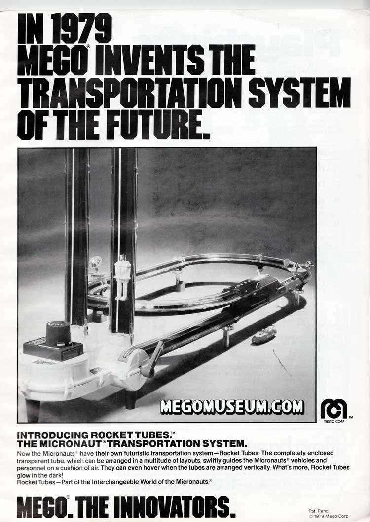 Rocket Tubes Ad from 1979