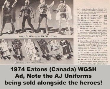 1974 Eatons Mego Ad
