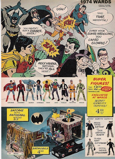 Mego Museum Department of Christmas Catalogs : Wards
