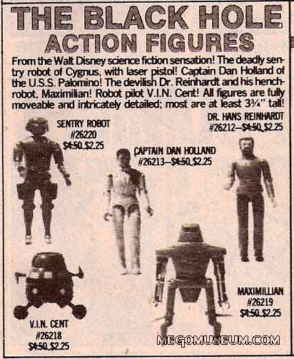 Mego black hole from 1980