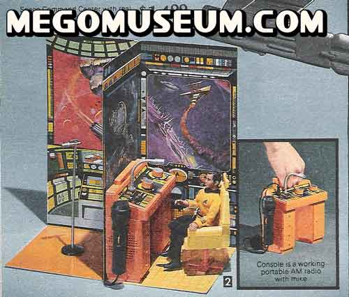 weird star trek playset