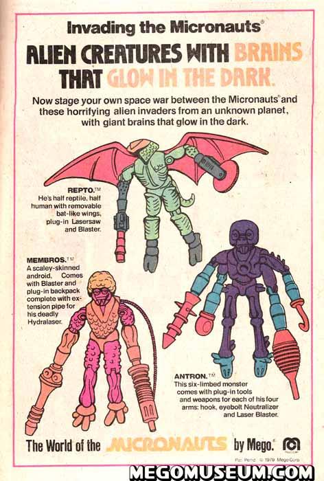 Micronaut Aliens Ad