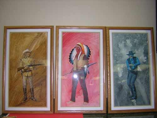 Original Mego Western Heroes Art