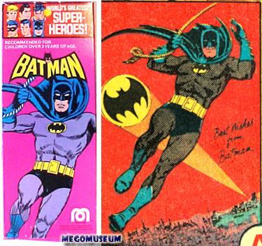 These posters were the source of many Mego Bat-images