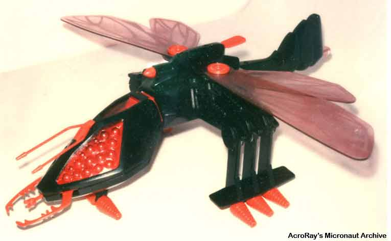 Anyone know of this toy - 1980s black dragonfly (insect) - HissTank com