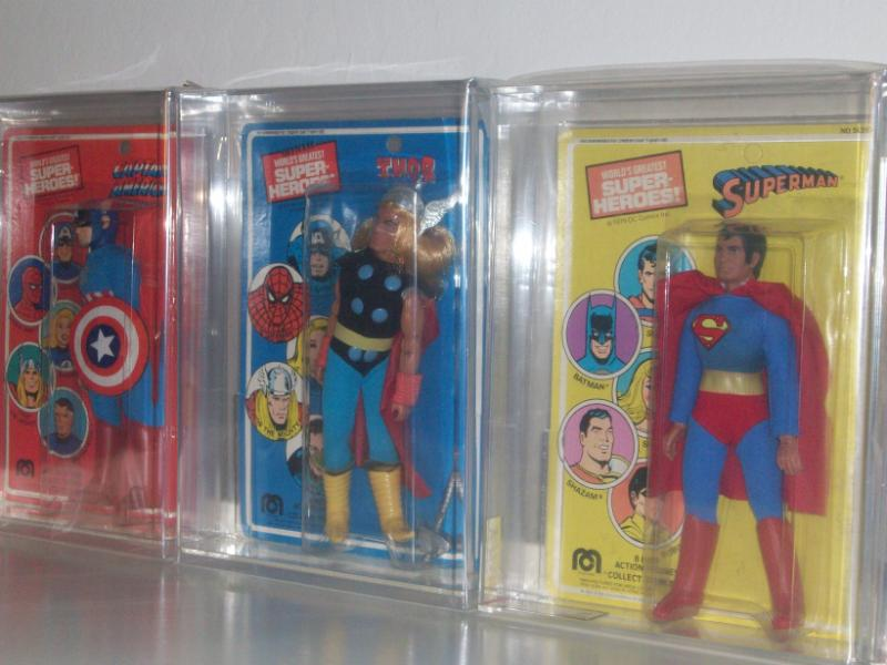 mego superheroes MOC