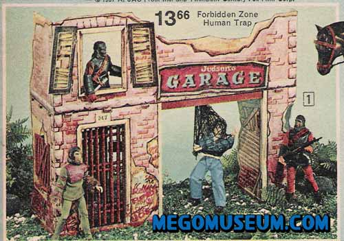 Mego Planet of the Apes today at the Mego Museum
