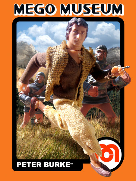 Mego Peter Burke Planet of the Apes