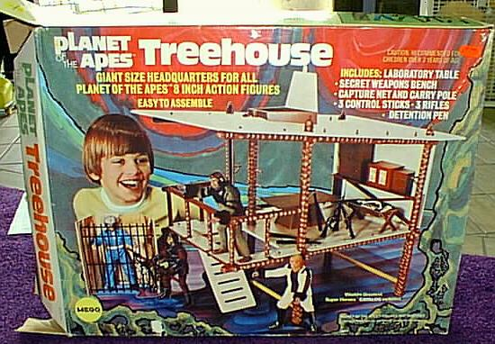 Mego Corp treehouse from Planet of the apes