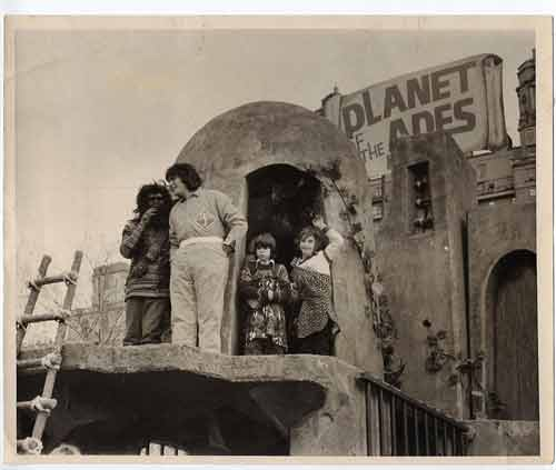 Mego Planet of the Apes Float