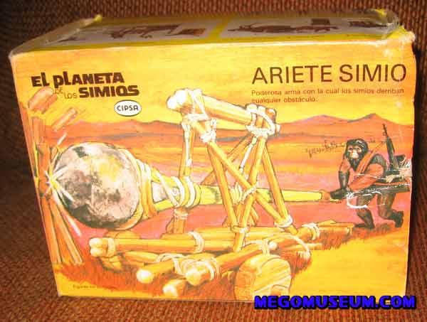 mego corp planet of the apes battering ram from Mexico