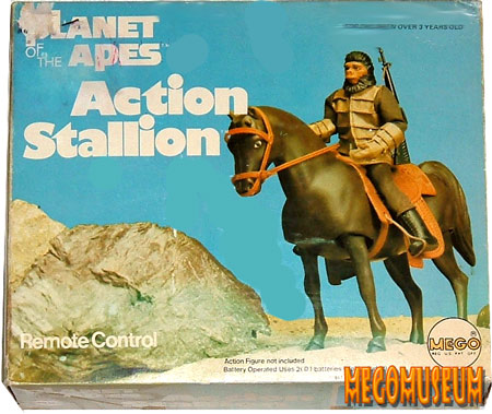 Mego Action Stallion is carried over from several other Mego lines