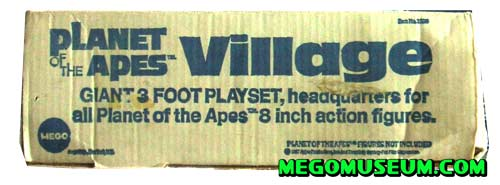 Mego Planet of the Apes Village Playset