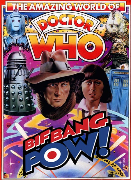 Bif bang pow Doctor Who