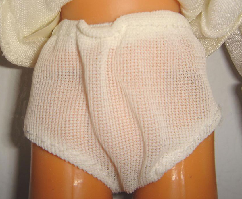 Wearing Sanitary Panty