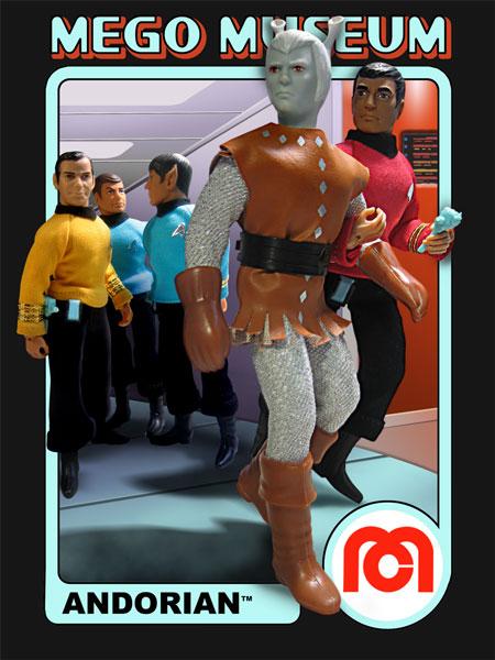 Andorian Star Trek Mego