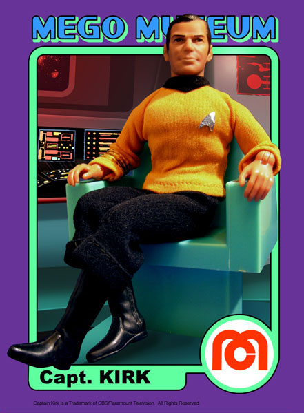 One of the most Iconic Mego Figures ever made, Captain James T Kirk