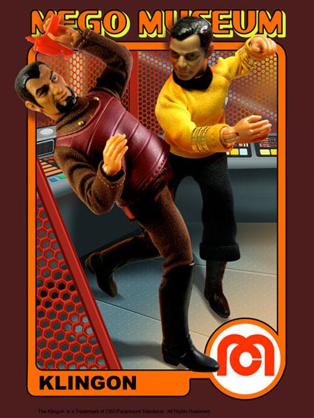 Klingon Mego doll