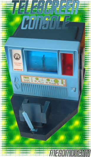 The Mego Star Trek Telescreen Console Playset, an electronic Marvel!