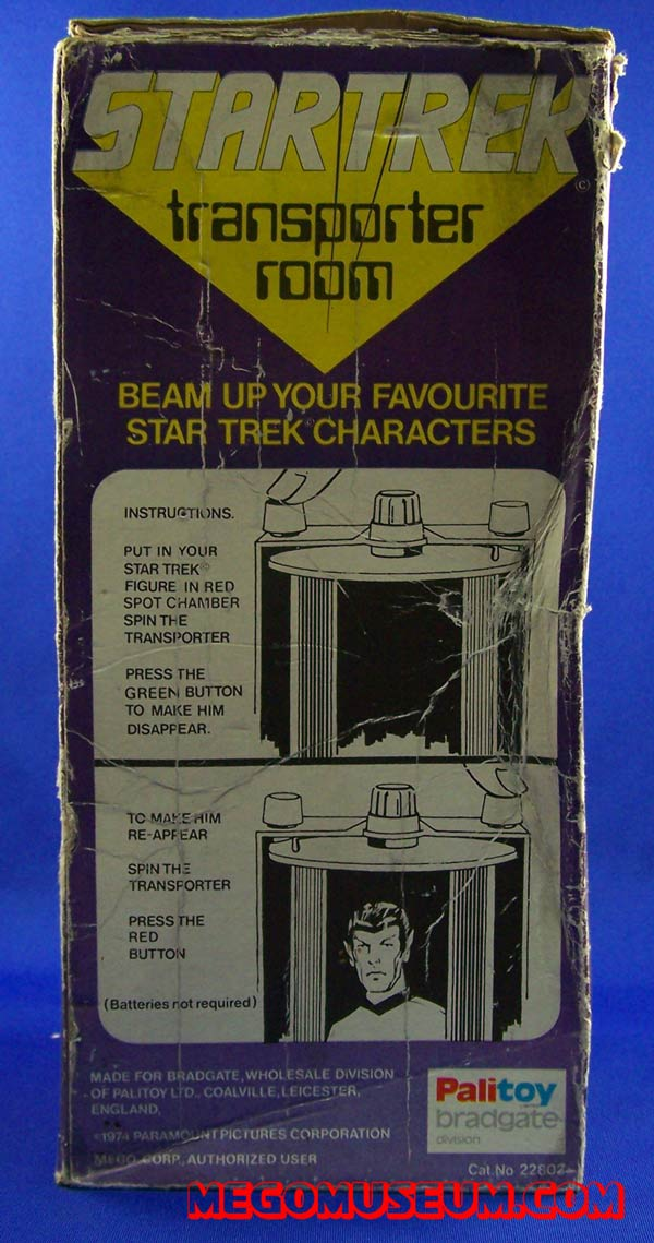 Palitoy Star Trek Transporter Room.