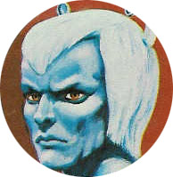 Original Mego Artwork for the Andorian, not a happy customer