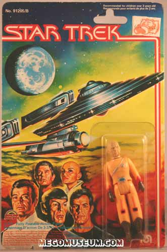 Mego Arcturian on Grand Toys Card