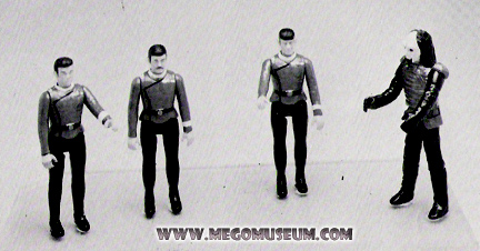 1984 Ertl Catalog showed Prototypes of their line using Mego figures!