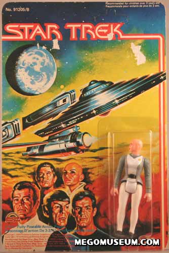 Mego Ilia on Grand Toys Card