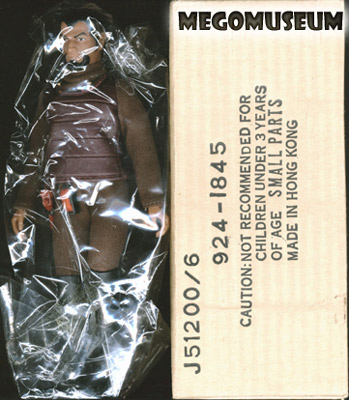 Mego Klingon in a mailer box
