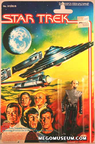 Mego Klingon on Grand Toys Card